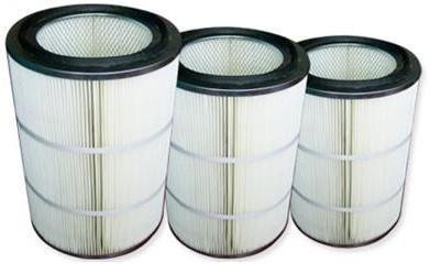 覆膜聚酯空气滤筒
