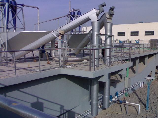 SWS螺旋式砂水分离器