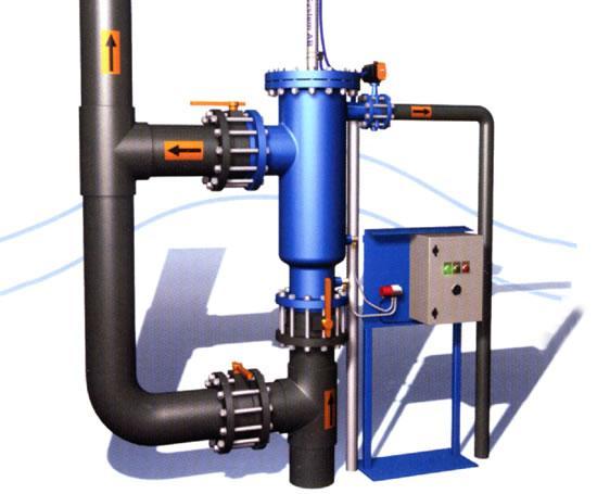 GACF系列在线式手动清洗过滤器