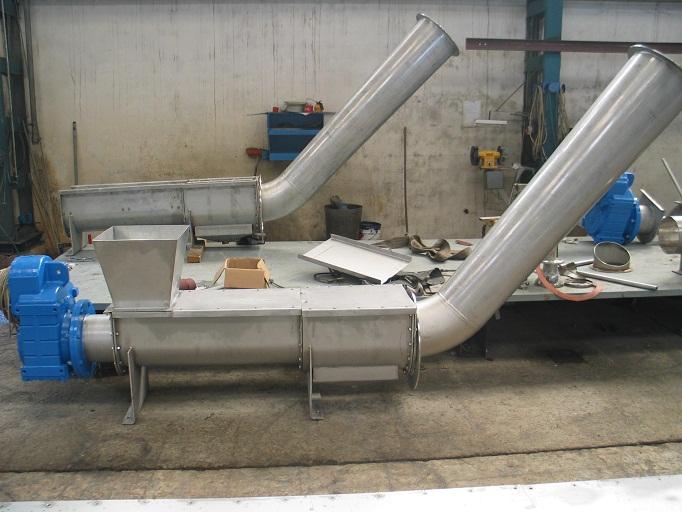 LWU系列螺旋压榨机