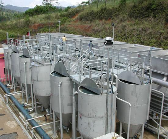 CFEN多元素内源微电解反应装置重金属废水治理中的应用
